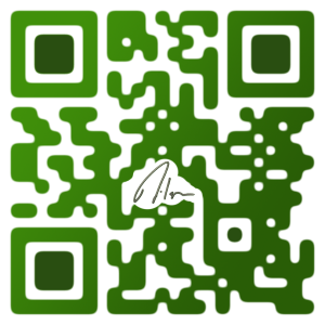 1_QR_code_Custom_Milespb_Logo_Color_Green